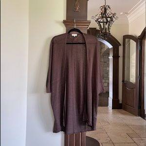 Part Two Brown Cardigan Size Large